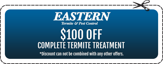 $100 off Complete Termite Treatment in Monmouth County